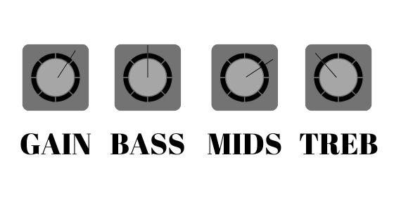 rock music amp settings