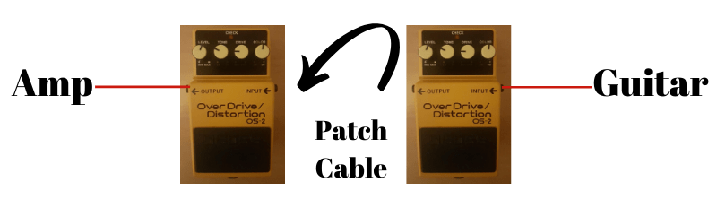 connecting multiple pedals