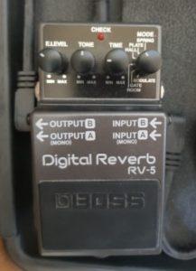 boss reverb pedal