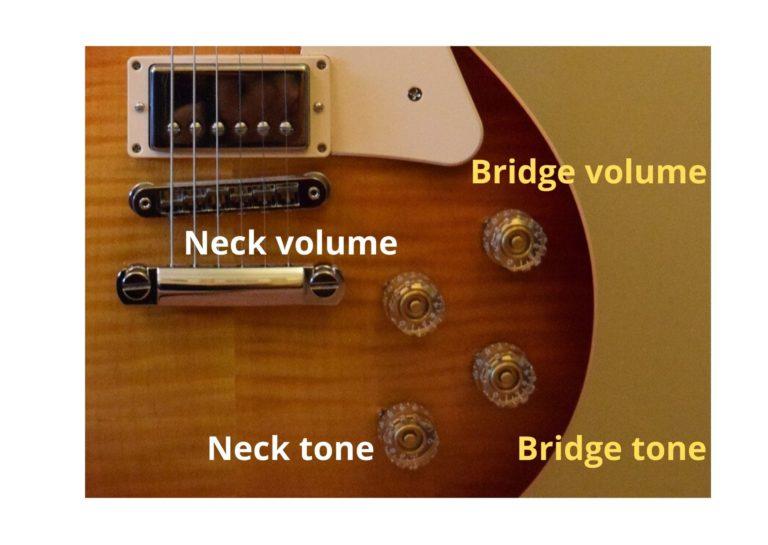les paul volume and tone controls