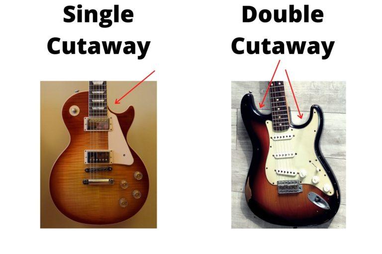 single vs double cutaway